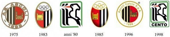 Stemmi Ascoli Calcio 1975-1998