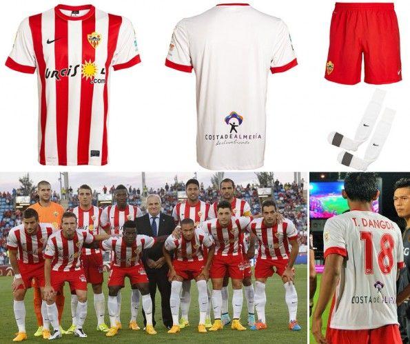 Prima maglia Almerìa 2014-2015