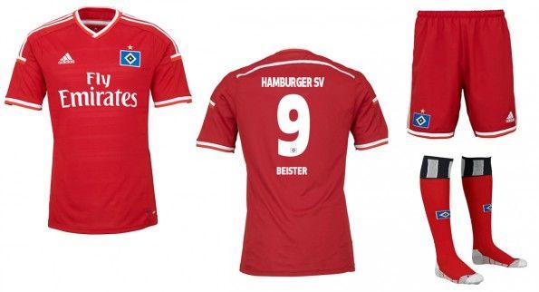 Amburgo terza maglia rossa 2014-2015