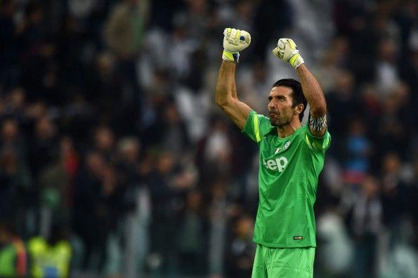 Buffon 500 presenze Juventus