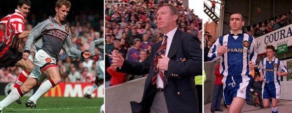 Cambio maglia Manchester United-Southampton