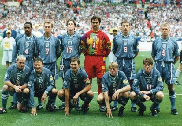 Formazione Inghilterra-Germania Euro 96