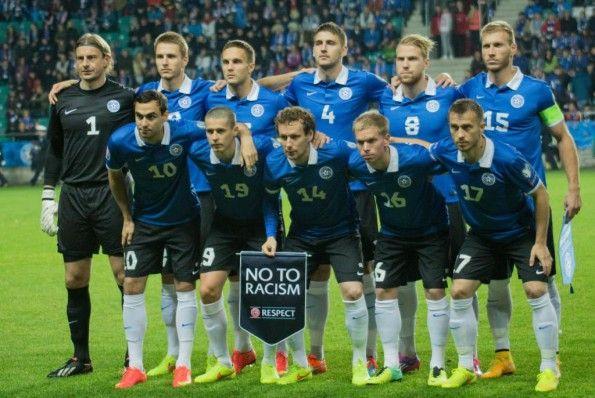 Estonia kit Nike 2014-2016