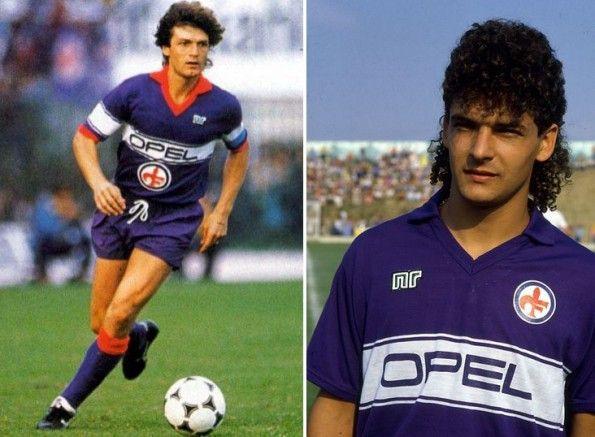 Maglia Fiorentina Baggio sponsor Opel