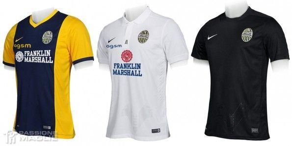 Maglie Hellas Verona 2014-2015 Nike