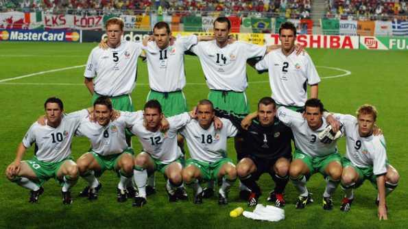Seconda maglia Irlanda Mondiali 2002