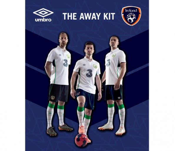 Irlanda away kit 2014-2015
