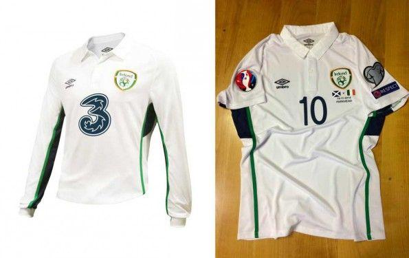 Ireland away shirt 2014-16 Umbro