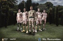 Millwall Commemorative Kit Camouflage 2014
