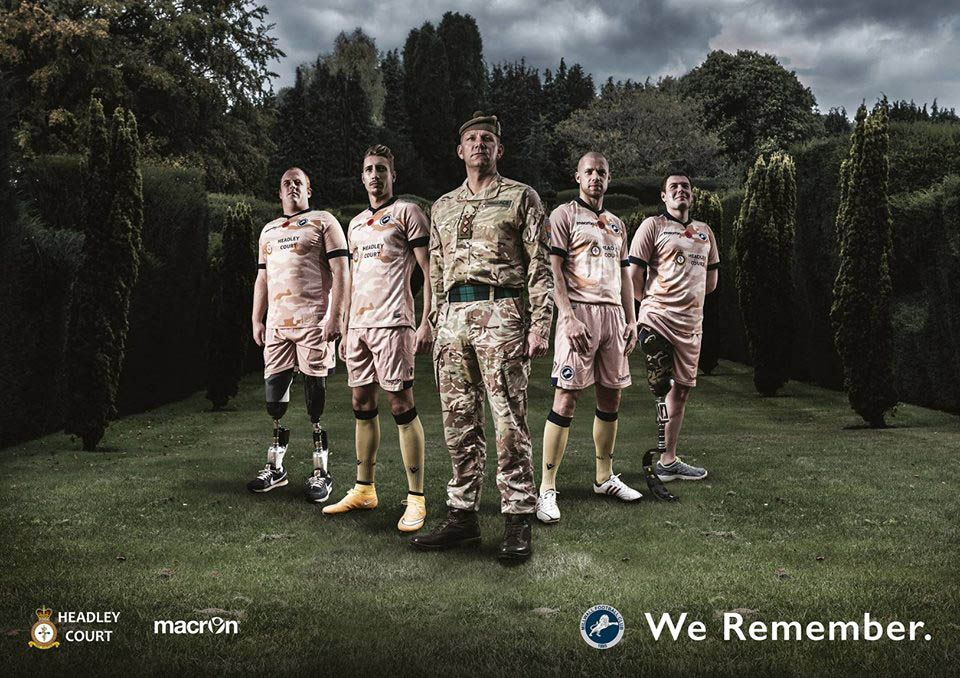 Millwall Commemorative Kit Camouflage 2014