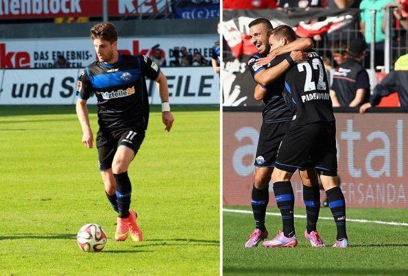 Paderborn kit 2014-2015 Saller