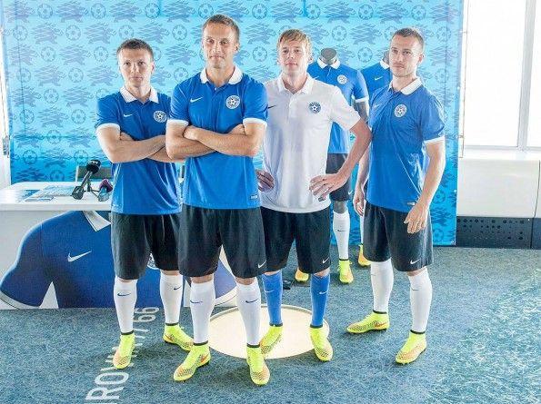 Presentazione maglie Estonia 2014-2016 Nike