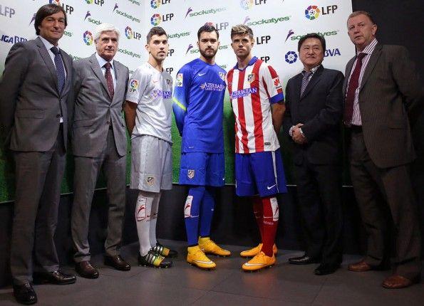Presentazione Sockatyes Atletico Madrid