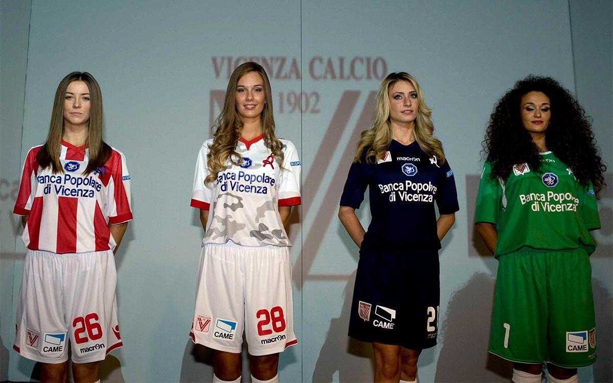 Presentazione maglie Vicenza 2014-2015