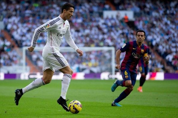 Cristiano Ronaldo nel Clàsico con le Superfly CR7
