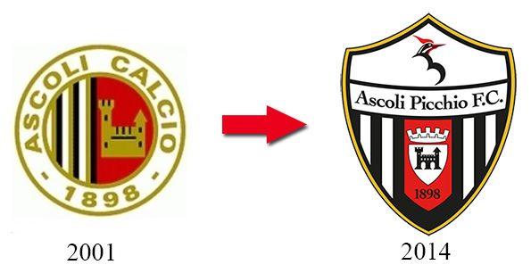 Nuovo stemma Ascoli Picchio FC