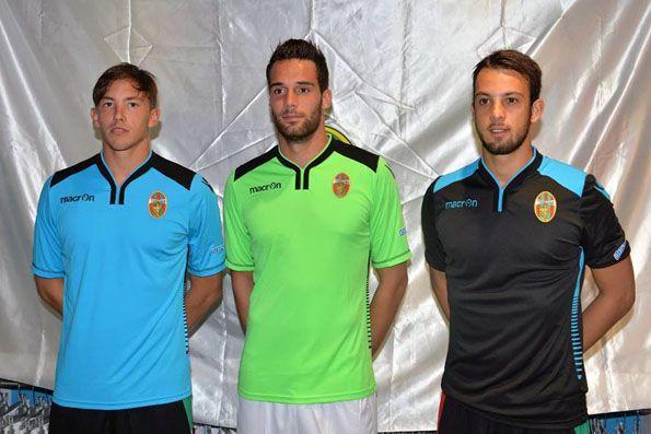 Ternana 2014-2015, divise portieri
