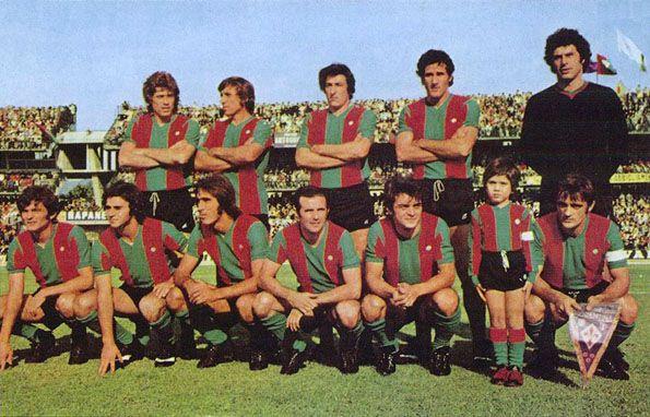 Ternana, maglia home 1974-1975