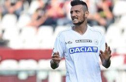 Thereau quarta maglia Udinese 2014-2015