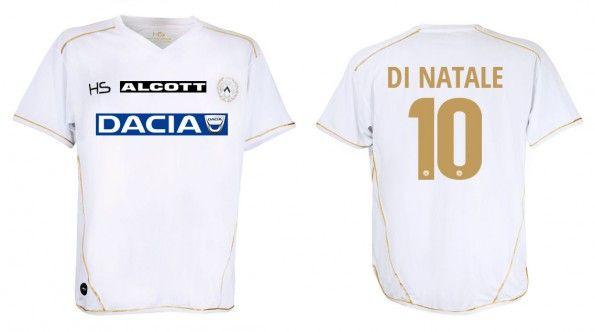 Udinese quarta maglia bianca 2014-2015