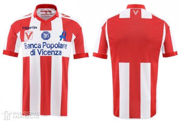 Prima maglia Vicenza 2014-2015 Macron