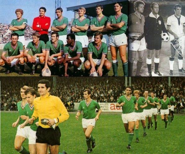 Saint'Etienne-Cagliari 1970-1971