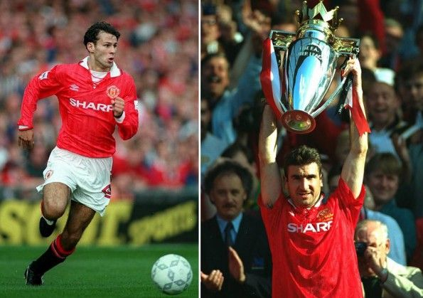 Giggs Cantona Manchester United 1992-1993