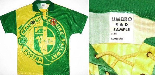 Prototipo terza maglia manchester United 1992-1994