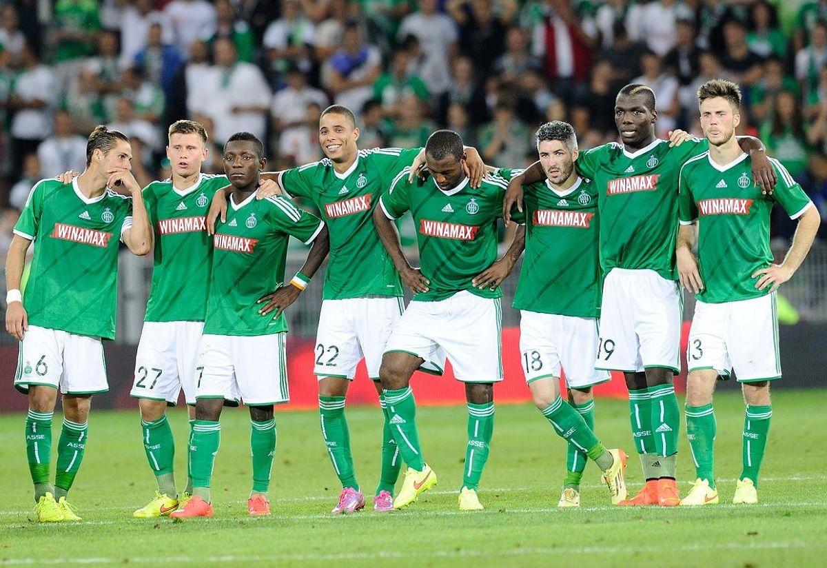 Divisa Saint-Etienne adidas 2014-2015