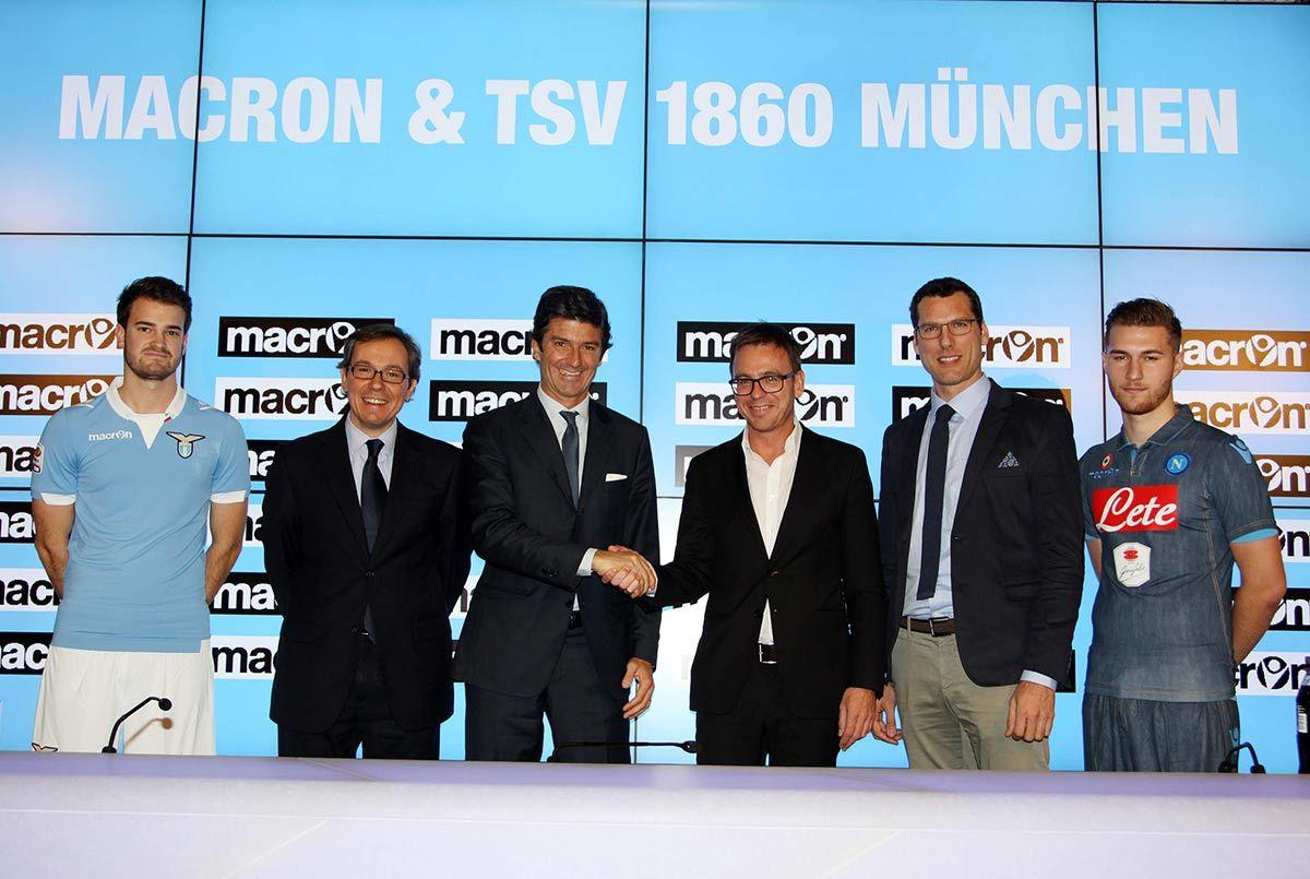 Accordo sponsorizzazione Monaco 1860 e Macron