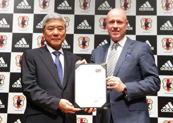 Rinnovo adidas Giappone sponsor tecnico