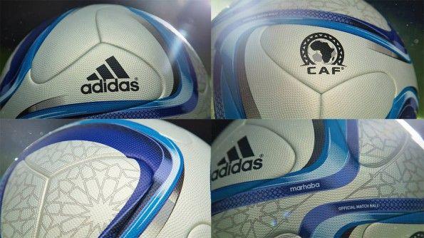 Dettagli pallone Coppa d'Africa 2014 Marhaba