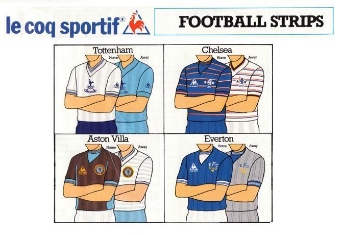 Adv Le Coq Sportif anni '80