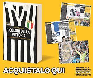 Banner libro maglie Juventus I colori della Vittoria