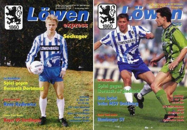 Copertine rivista Monaco 1860 1994-1995
