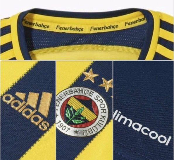 Dettagli maglia Fenerbahce 2014-15