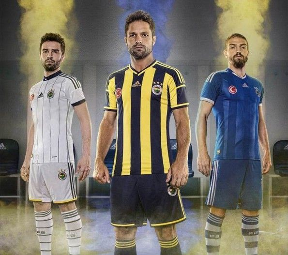 Maglie Fenerbahce 2014-2015
