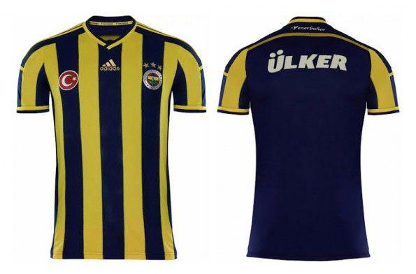 Prima maglia Fenerbahce 2014-2015