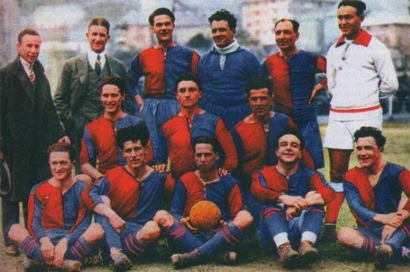 Formazione Genoa 1922-24