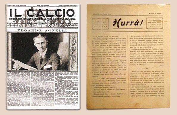 I giornali Il Calcio e Hurrà!