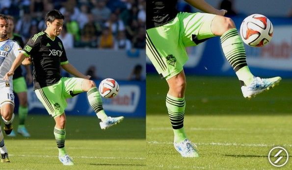 Gonzalo Pineda (Seattle Sounders) adidas nitrocharge CrazyLight