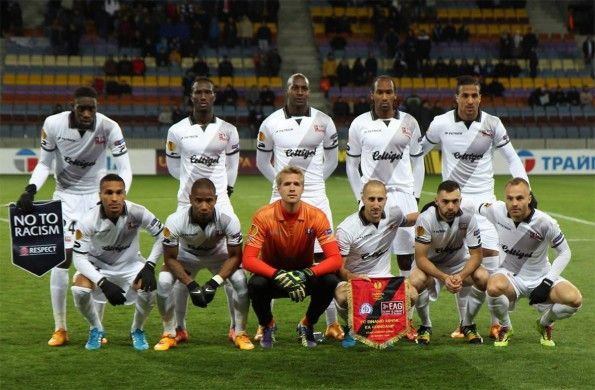 Kit Guingamp away Europa League 2014-15