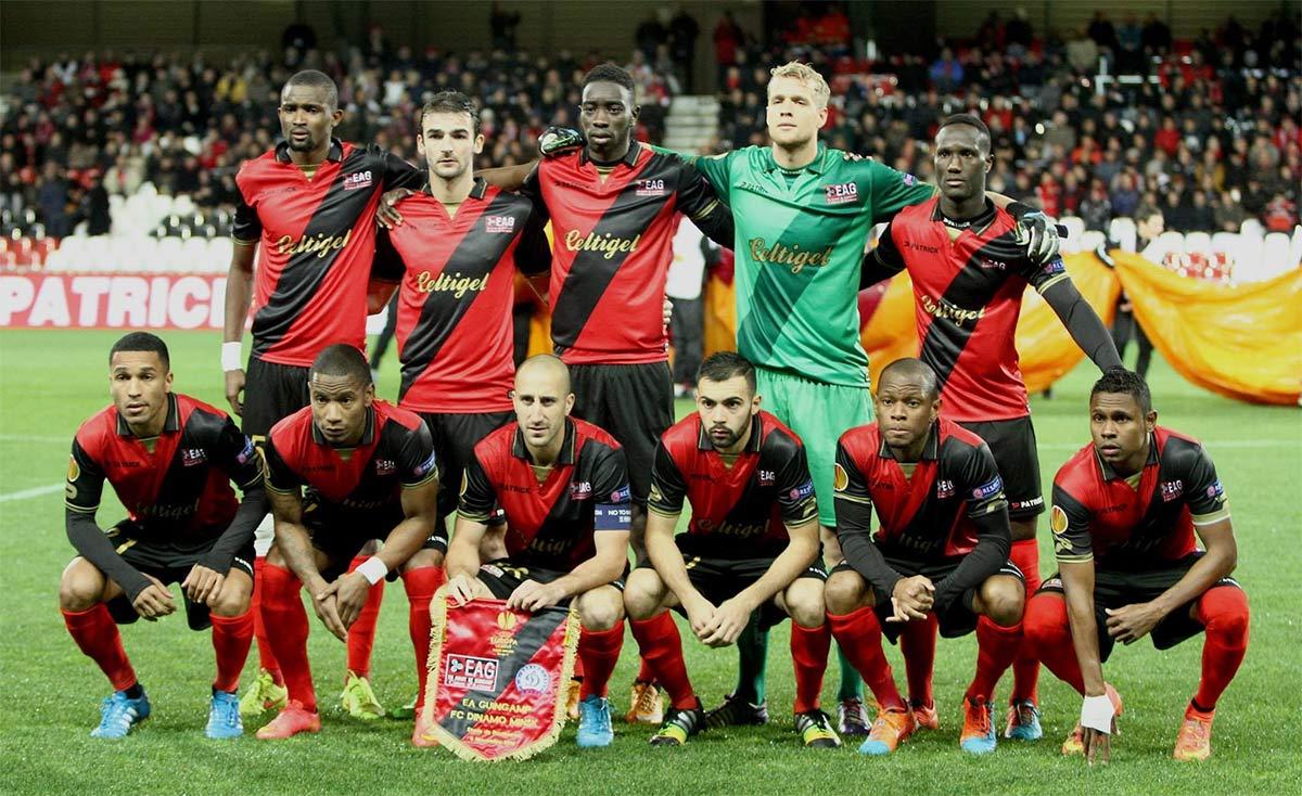 Formazione Guingamp Europa League 2014-2015