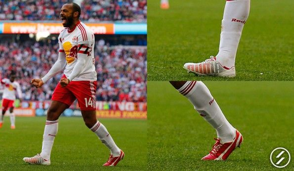 Henry (New York Red Bulls) Puma evoSpeed 1.2