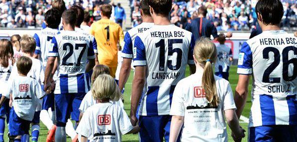 Maglia Hertha Berlino home 2014-2015, retro