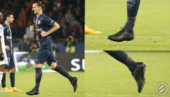 Ibrahimovic scarpe blackout