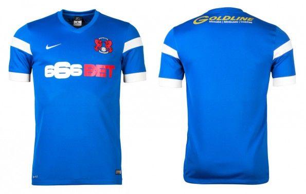 Seconda maglia Leyton Orient 2014-20155