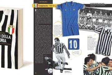 """Libro """"I colori della vittoria"""" maglie Juventus"""