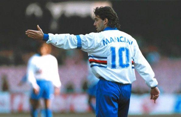 Roberto Mancini numero 10 Sampdoria