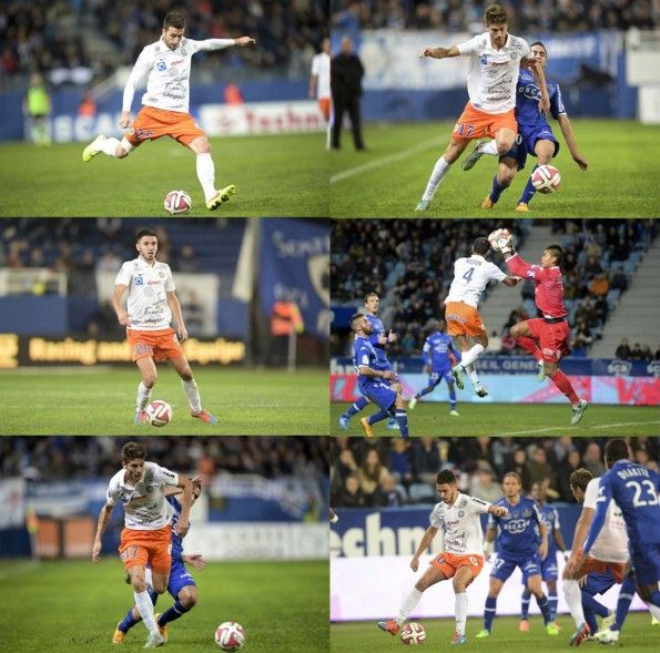 Maglia Away Montpellier 2014-2015